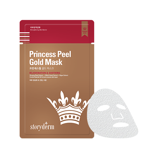 PRINCESS PEEL GOLD MASK
