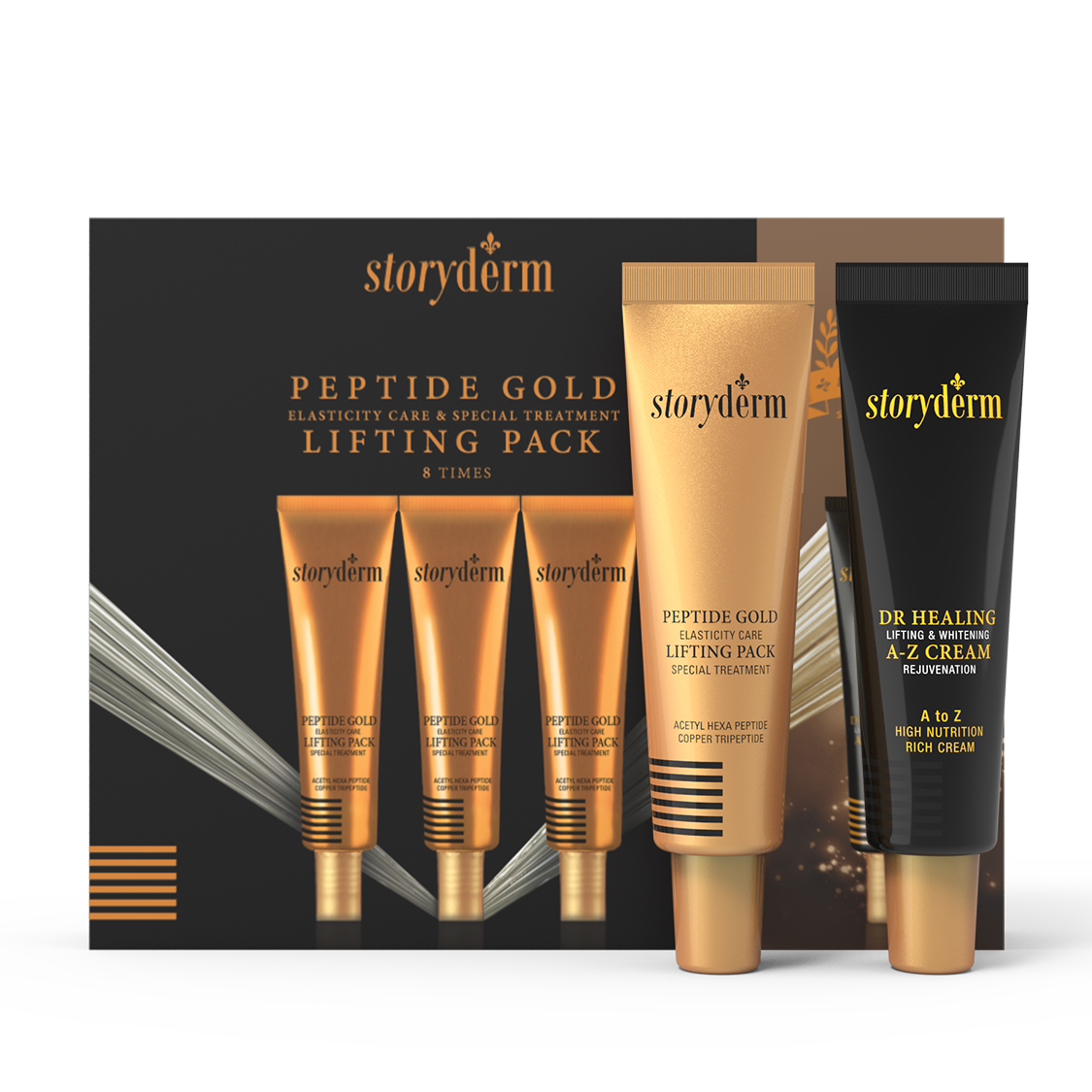 GOLD PEPTIDE LIFTING PACK